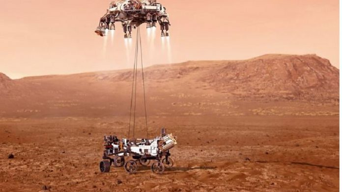 """Mjeti kozmik """"Perseverance"""" i NASA-s bën ulje të sigurt në Mars"""